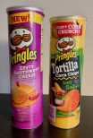 Pringles Zesty Southwest Cheese 169G und Pringles Tortilla Corn Chips Zesty Salsa