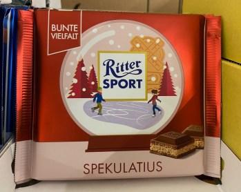 Ritter Sport Spekulatius Wintermotive 2020