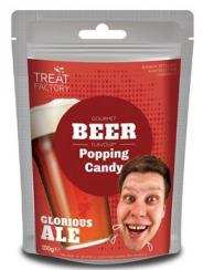 Treat Factory Gourmet Beer Flavour Popping Candy 100g