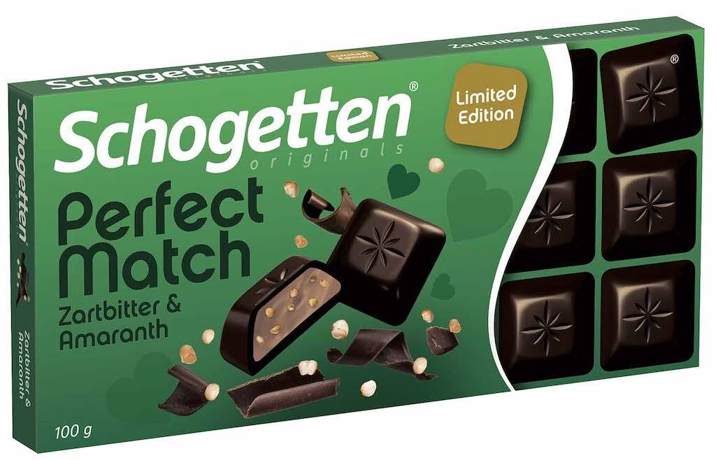 Trumpf Schogetten Perfect Match Zartbitter+Amaranth 100g