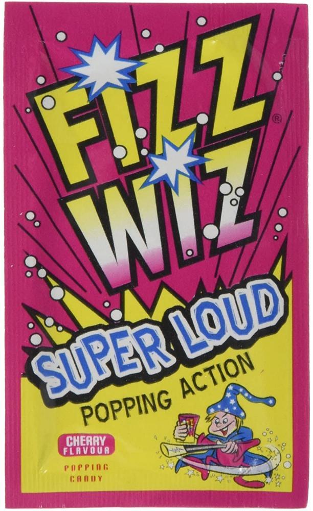 Zeta Fizz Wizz Super Loud Popping Action 24g