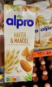 alpro Hafer+Mandel Milch Nutriscore