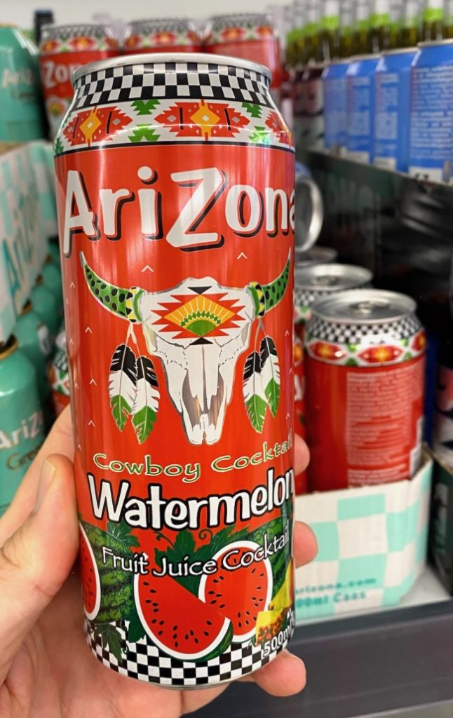 Arizona Cowboy Cocktail Watermelon Fruit Juice Cocktail 500ML Dose