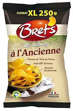 Brets Les natures a l'Ancinne Kartoffelchips