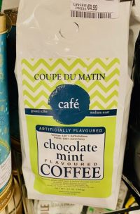 Coupe du Matin café Chocolate mint flavoured 340G