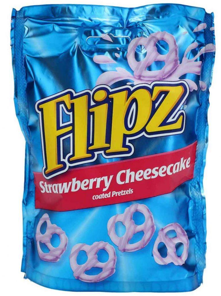 Flipz Strawberry Cheesecake Schokosalzbretzel 90g