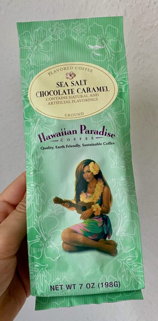 Hawaiian Paradiese Sea Salt Chocolate Caramel Coffee 198G