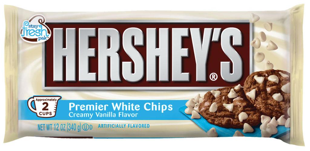 Hershey's Premier White Chips Creamy Vanilla Flavour 340G