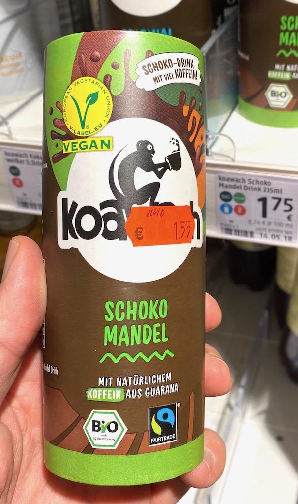 Koawach Schoko Mandel Trinkfertig