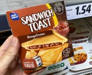 Lidl Chef Select Sandwich Toast Nougatcreme Toaster 2er