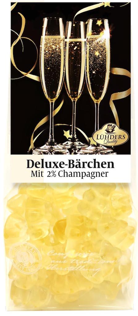 Lühders Deluxe-Bärchen mit 2% Champagner 150g