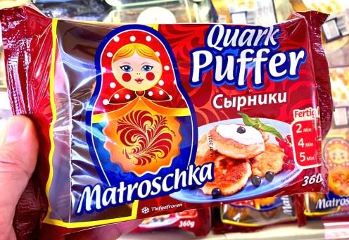Matroschka Quark Puffer Tiefgefroren 360G