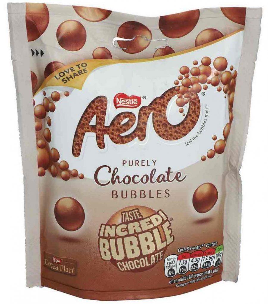 Nestlé Aero Bubbles Chocolate 102g