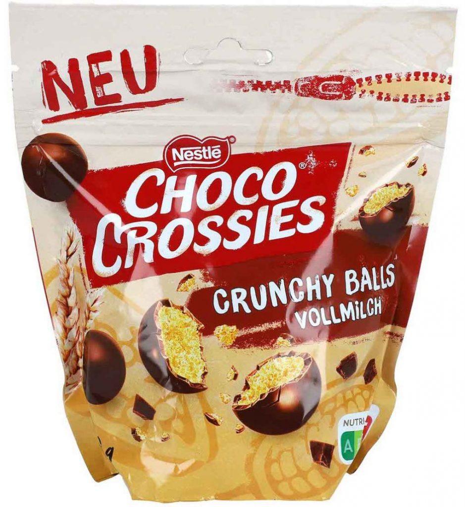 Nestlé Choco Crossies Crunchy Balls Vollmilch 200g