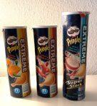 Pringles Extreme kickin' cheddar-blazin' buffalo wing+smokin' hot ranch Super Stack