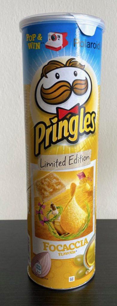 Pringles Focaccia Limited Edition Polaroid
