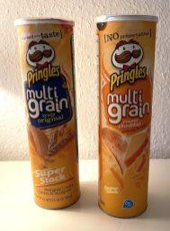Pringles Multigrain Original Super Stack+multigrain cheesy cheddar Super Stack