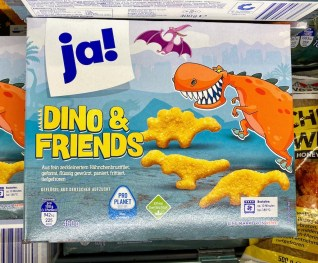 REWE Ja! Dino&Friends Chicken Nuggets 400G TK
