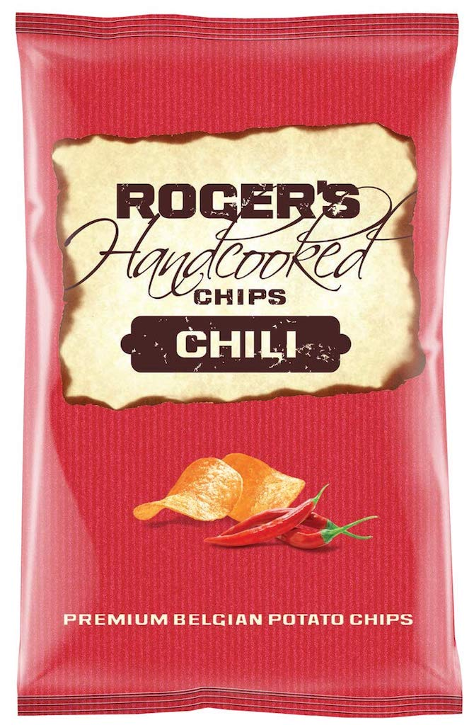 Roger's Handcooked Chips Chili