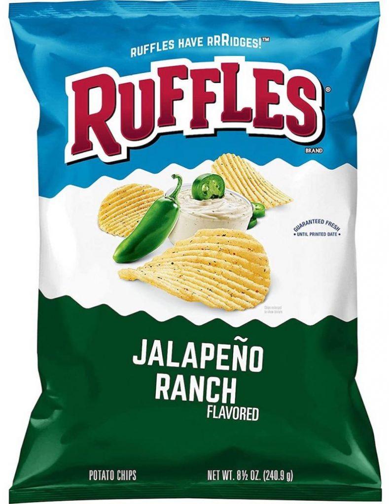 Ruffles Chips Jalapeno Ranch 241G