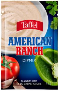 Taffel American Ranch Dipmix 12g