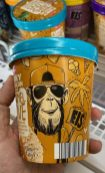 Aldi Mucci Funky American Style Affe Caramel Love 500ML Pint Eiskrem