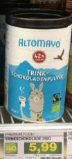 Altomayo Bio-Trink-Schokoladenpulver Lama Runddosen Kopie