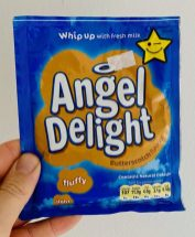 Angel Delight Butterscotch Flavour fluffy