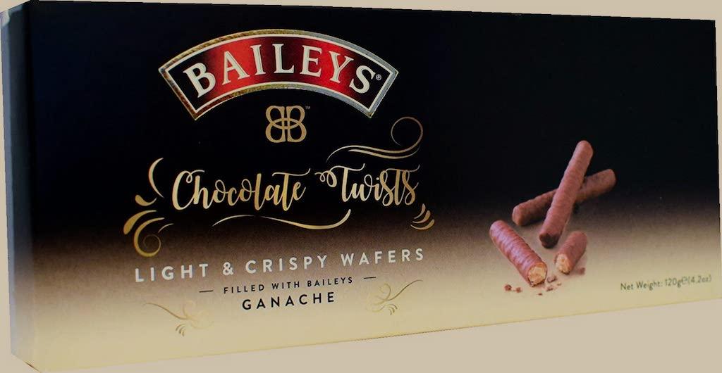 Baileys Chocolate Twist Wafers filled with Ganache 120G