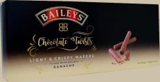 Baileys Chocolate Twist Wafers filled with Ganache 120G