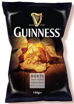 Burts Guinness Chips 150G