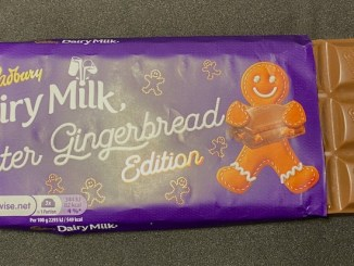 Cadbury Dairy Milk Winter Gingerbread Edition Lebkuchenmann