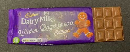 Cadbury Dairy Milk Winter Gingerbread Edition Lebkuchenmann