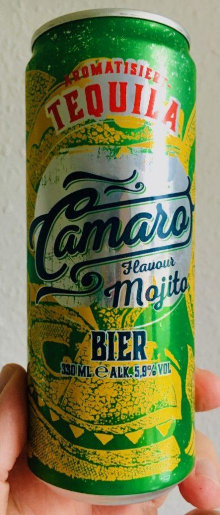 Camaro Tequilla Mojito Flavour Beer 330ML Getränkedose