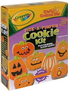 Crafty Cooking Kits Crayola Pick a pumpkin Cookie Kit