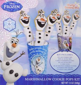 Crafty Cooking Kits Disney Frozen Marshmallow Cookie Pops Kit 396G