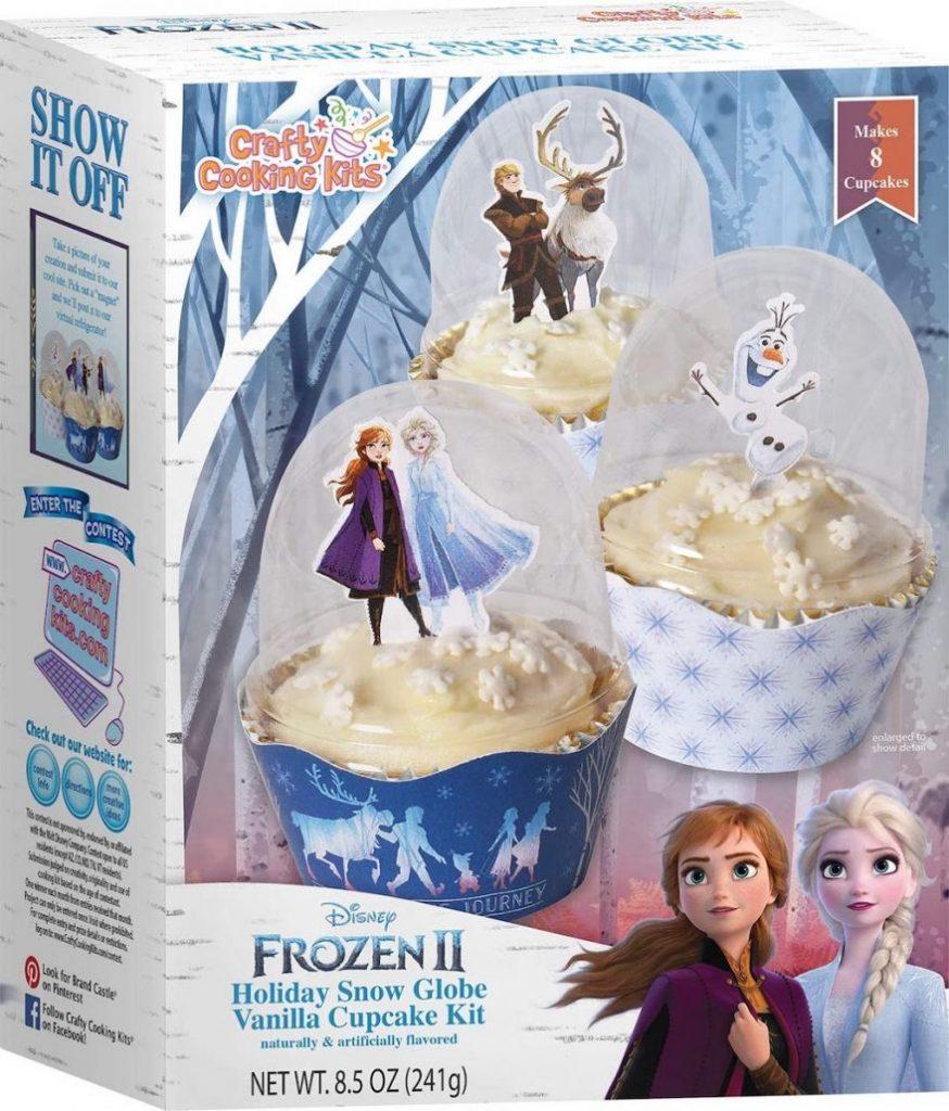 Crafty Cooking Kits Frozen II Vanilla Cupcake Kit 241G