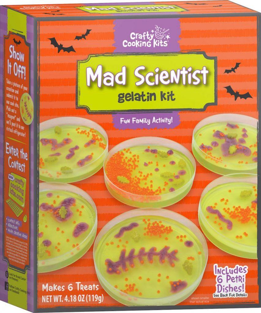Crafty Cooking Kits Mad Scientist gelatin kit 119G
