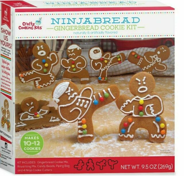 Crafty Cooking Kits Ninjabread Gingerbread Cookie Kit 269G