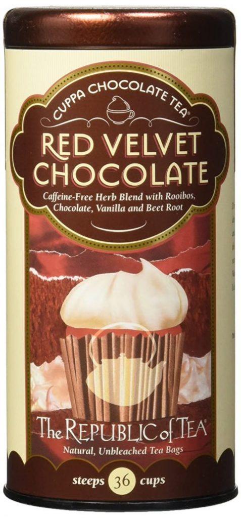 Cuppa Chocolate Tea Red Velvet Chocolate Aromatisierter Tee mit Roibusch, Schokolade, Vanille und Roter Beete