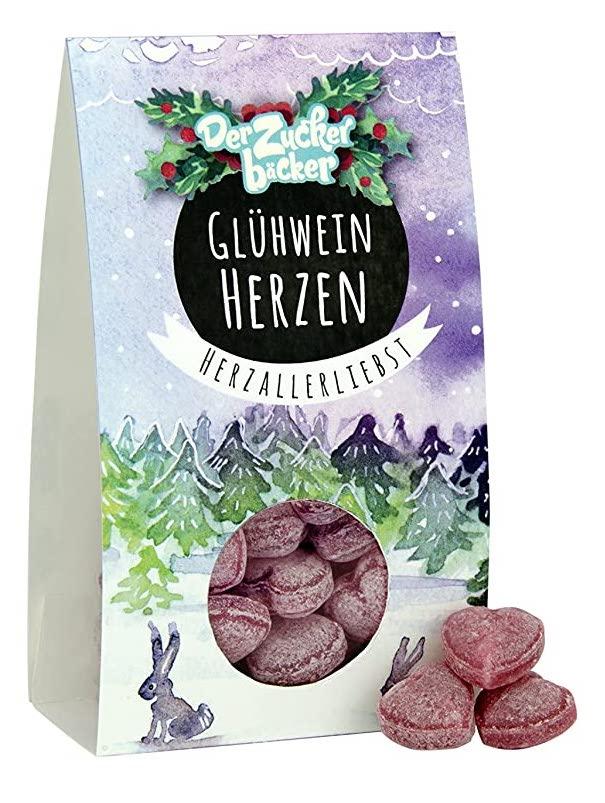 Der Zuckerbäcker Glühweinherzen Herzallerliebst Herzbonbons
