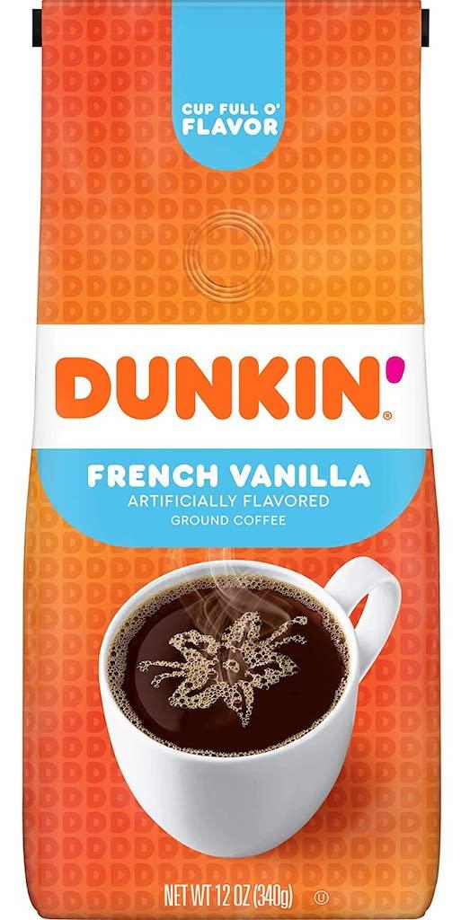 Dunkin Donuts French Vanilla Kaffee 340G