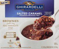 Ghirardelli Salted Caramel Premium Brownie Mix Tassenkuchen 4er 260G