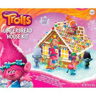 Hasbro Cookies United Trolls Gingerbread House Kit 822G