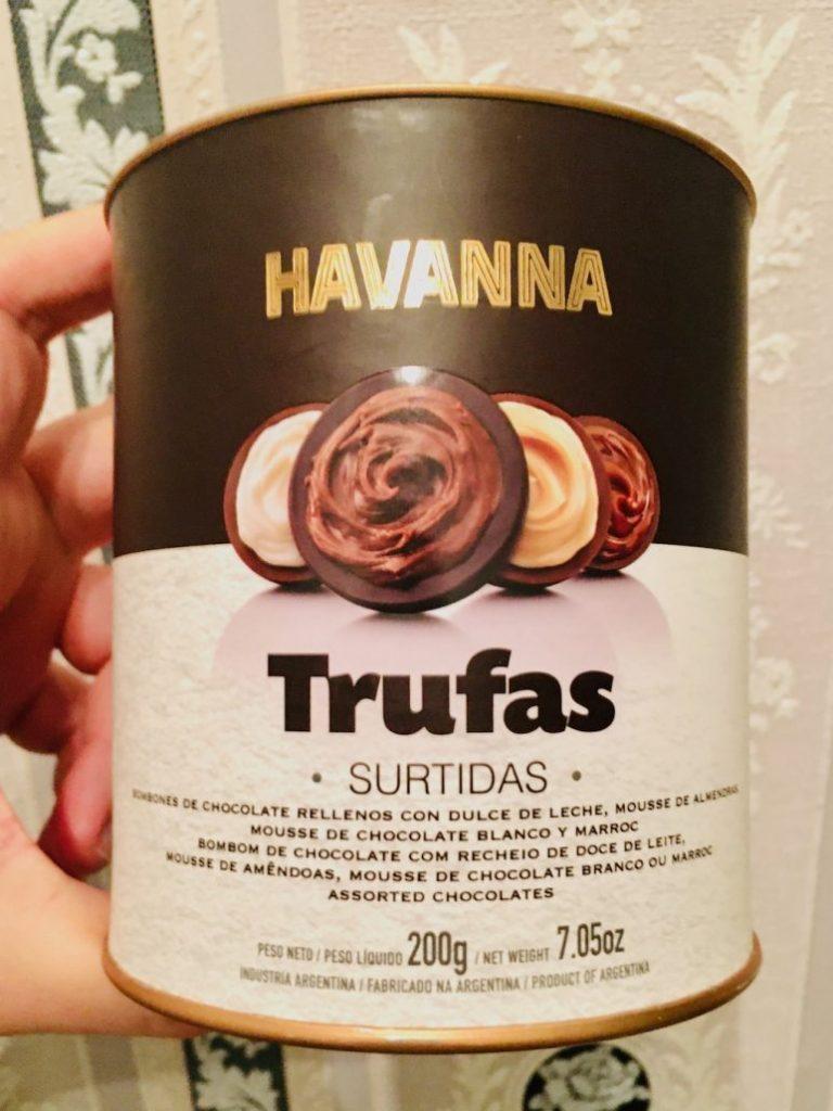 Havanna Trufas Spanische Trüffel-Pralinen 200G Dose