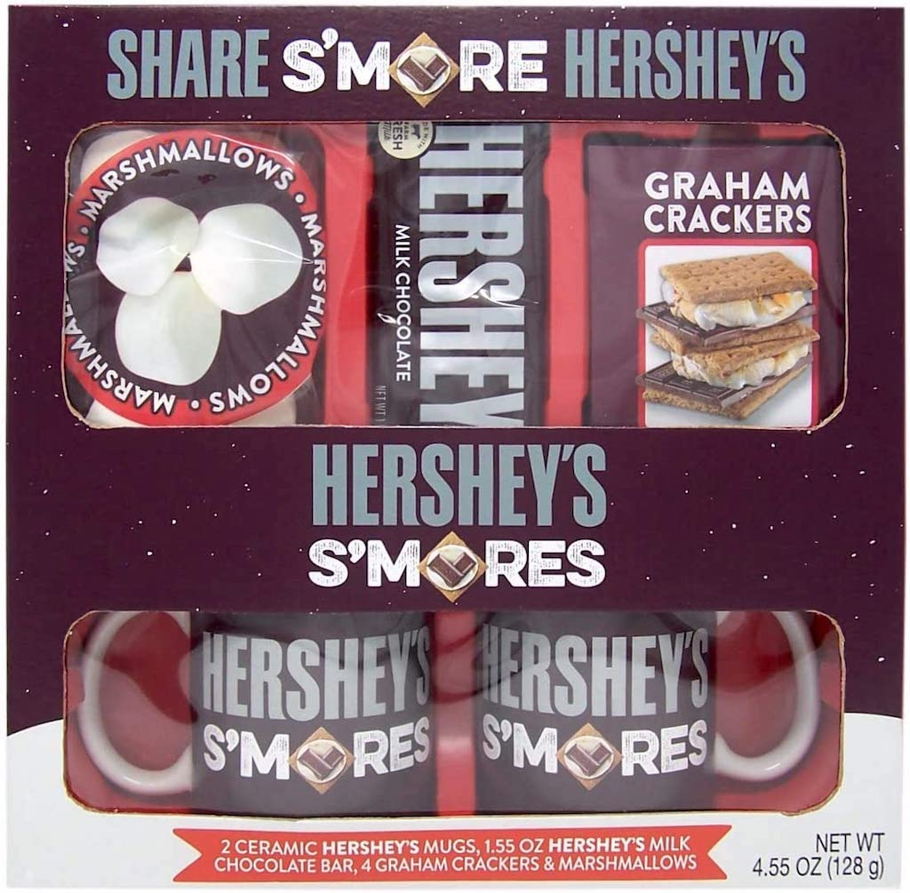 Hershey's S'mores Marshmallows Chocoalte Crackers Becher