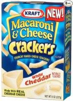 Kraft Mac+Cheese Crackers White Cheddar 227G