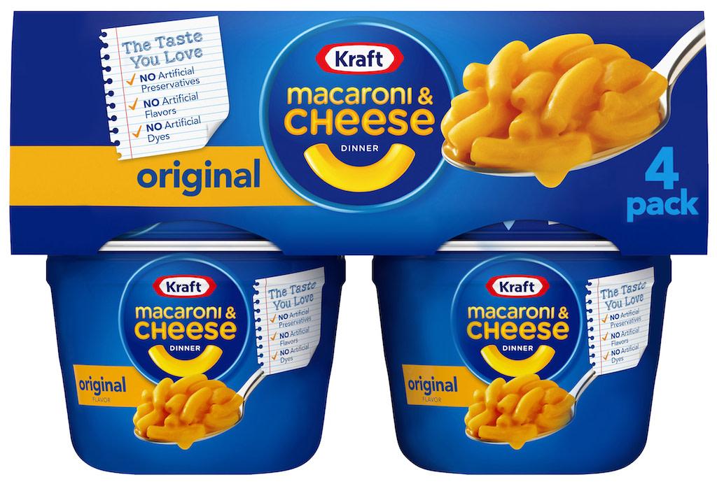 Kraft Macaroni & Cheese Dinner Original 4er Pack