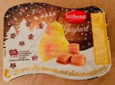 Lidl Milbona Joghurt Birne-Karamell mit Schokosternen 175G