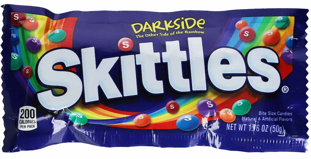 Mars Skittles Darkside The other side of the Rainbow 50g